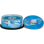 TDK DVD+R 4,7GB/16X 25-torn EOL