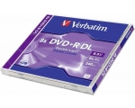VERBATIM DVD+R 8,5GB 8x Double Layer jewel