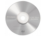 Verbatim DVD-R 4.7GB / 16x Matte Silver Slim 43547