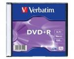 Verbatim DVD+R 4,7GB/16x slim 1tk.