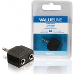 Valueline VLAB22945B 3,5mm otsik - 2x 3,5mm pesa