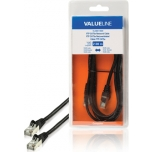 Valueline VLCB85110B20 FTP Cat5e RJ45-RJ45, must, 2m