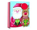 M gift bag SANTA / REINDEER