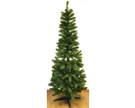 Artificial spruce 150cm Pencil type, 240 PVC tops, 2 shades, 4-branch