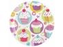 Cupcake Taldrikud 23cm 8tk/pk
