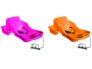 Beebikelk Belli Baby, 50 x 74 x k.32 cm, kinnitustraksid, integreeritav käepidemega nöör, (fuxia,,oranz) /4/120