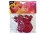 Õhupallid Süda 10tk punased, sobivad heeliumiga täitmiseks