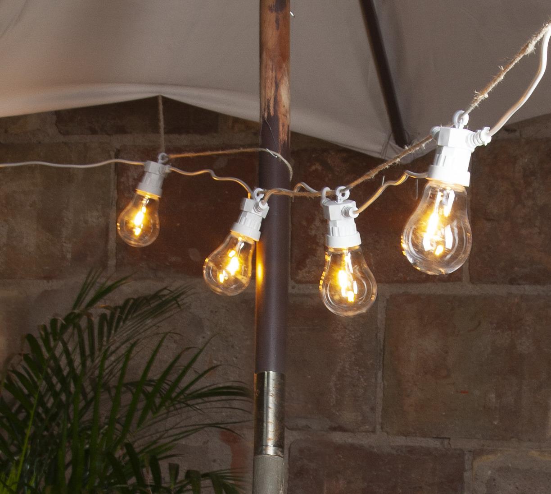 Valguskett Circus Filament 5m, 10LED filament, välis, voolutoide, IP44