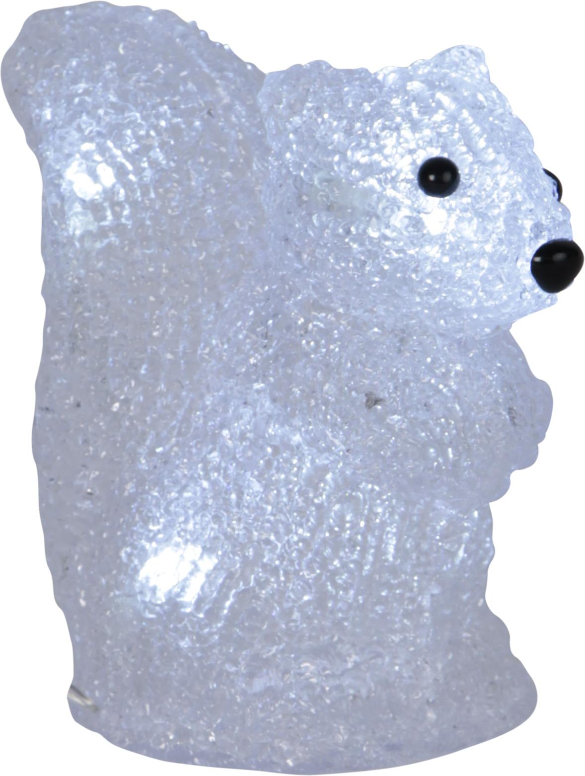 Orav 15X13cm, 5 LED, patareitoide, IP20